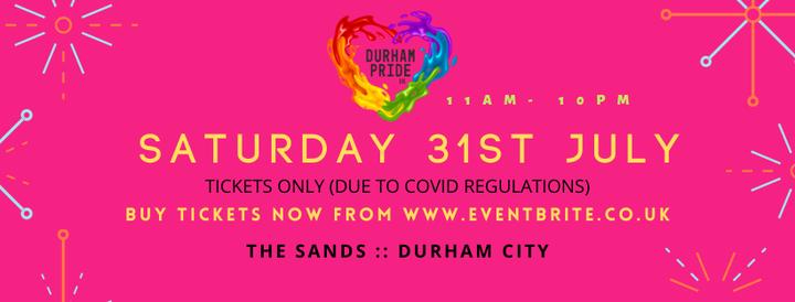 Durham Pride 2021, 31 July   Event in Durham   AllEvents.in