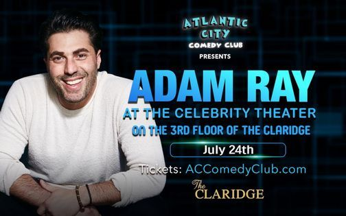 Adam Ray at The Celebrity Theater, 24 July | Event in Atlantic City | AllEvents.in