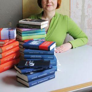 LiteraturKlassiker im Winter 3 Sabine Drlemann zu Gast