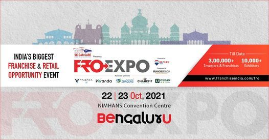 FROEXPO 2021 | NIMHANS Convention Centre, Bengaluru | Oct., 22-23, 2021 | Event in Dharmapuri | AllEvents.in