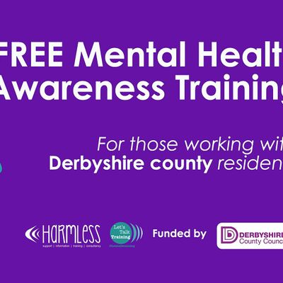 ONLINE FREE Derbyshire County Mental Health Awareness Training