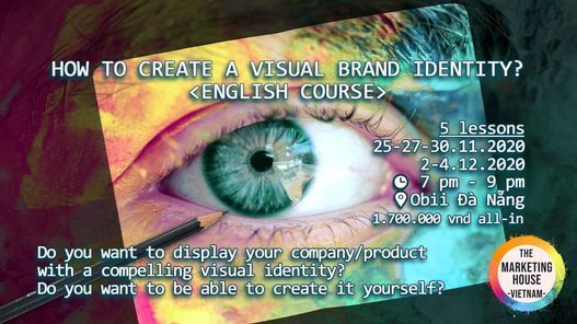 Marketing course - How to create a visual BRAND identity?, 20 April | Event in Sanhu Dao | AllEvents.in