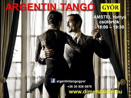 Ünnepi Argentin Tangó Győr 08.19. csüt. 18:00 AMSTEL terasz   Event in Gyor   AllEvents.in