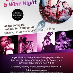 Jazz and Wine Night at the Holiday Inn