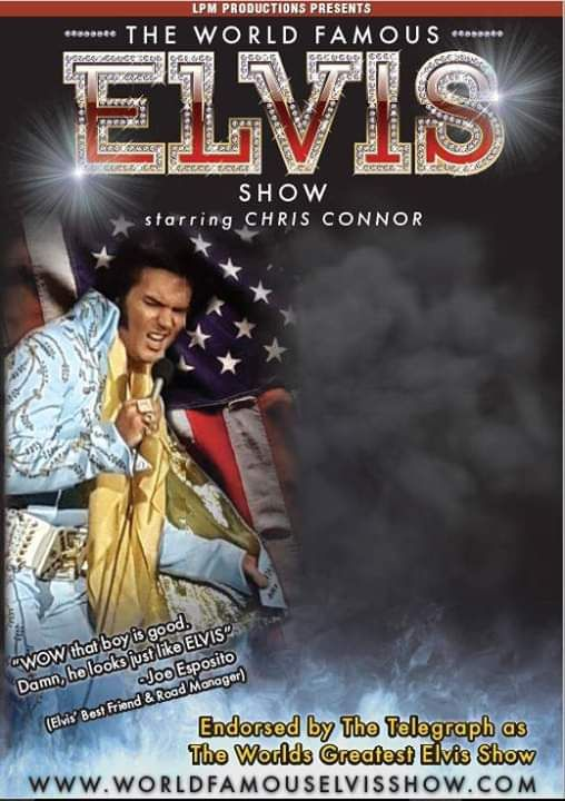 The World Famous ELVIS Show starring Chris Connor, 19 February | Event in Burnley | AllEvents.in