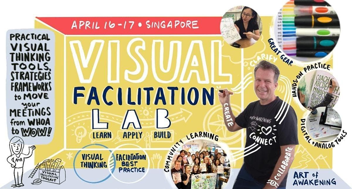 Art of Awakening Visual Facilitation Lab - Singapore Apr 2021 | Event in Singapore | AllEvents.in