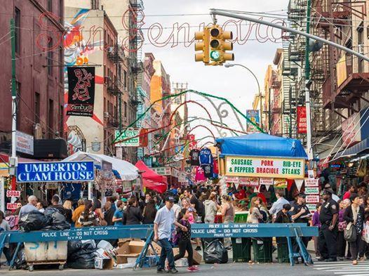 San Gennaro Festival New York 2020.2019 Feast Of San Gennaro At Little Italy Manhattan Manhattan
