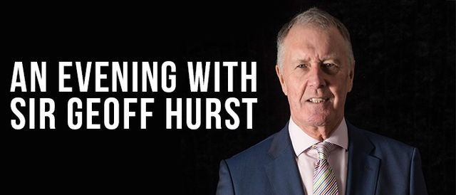 An Evening with Sir Geoff Hurst, 3 February | Event in Saint Albans | AllEvents.in