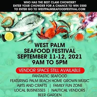 Clam Chowder Cook Off - West Palm Seafood Festival