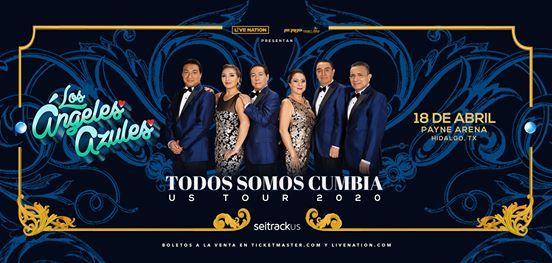 Los ngeles Azules en concierto-Payne Arena 18 de Abril-Hidalgo