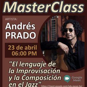MasterClass El lenguaje de la Improvisacin y la Composicin en el Jazz