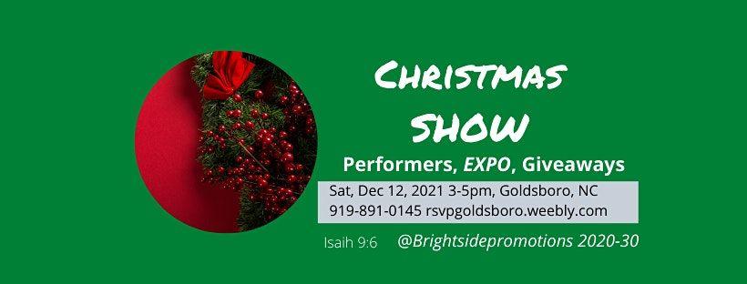 Goldsboro Christmas 2020 Virtual Christmas Show (Performing Artists, Expo, Gift Exchange