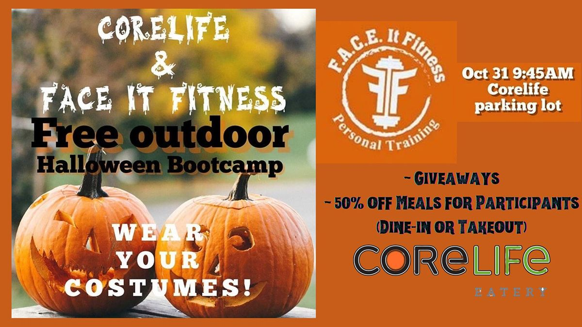 Outdoor Halloween Boot Camp w/F.A.C.E. It Fitness and CoreLife, 31 October | Event in Murfreesboro | AllEvents.in