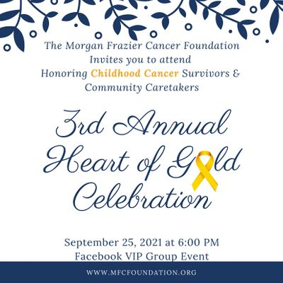 3rd Annual Heart of Gold Celebration Honoring Childhood Cancer  Survivors