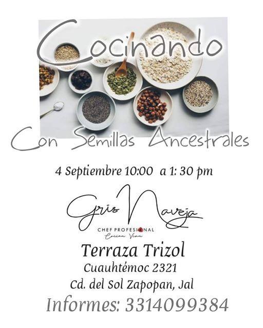 Curso Cocinando Con Semillas Ansestrales At Terraza Trisol