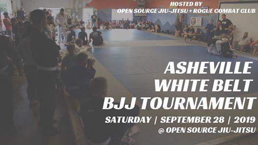 Asheville White Belt BJJ Tournament: Fall 2019 at Open