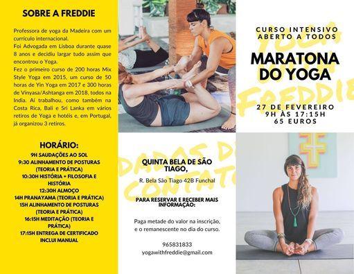 Maratona do Yoga - Curso Intensivo III | Event in Funchal | AllEvents.in