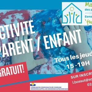 ACTIVITE PARENTENFANT - OUDER-KINDACTIVITEIT