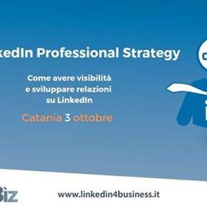 LinkedIn Professional Strategy - Catania