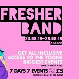 The Fresher Pink Band I 7 Days 7 Events I NOW SOLD OUT