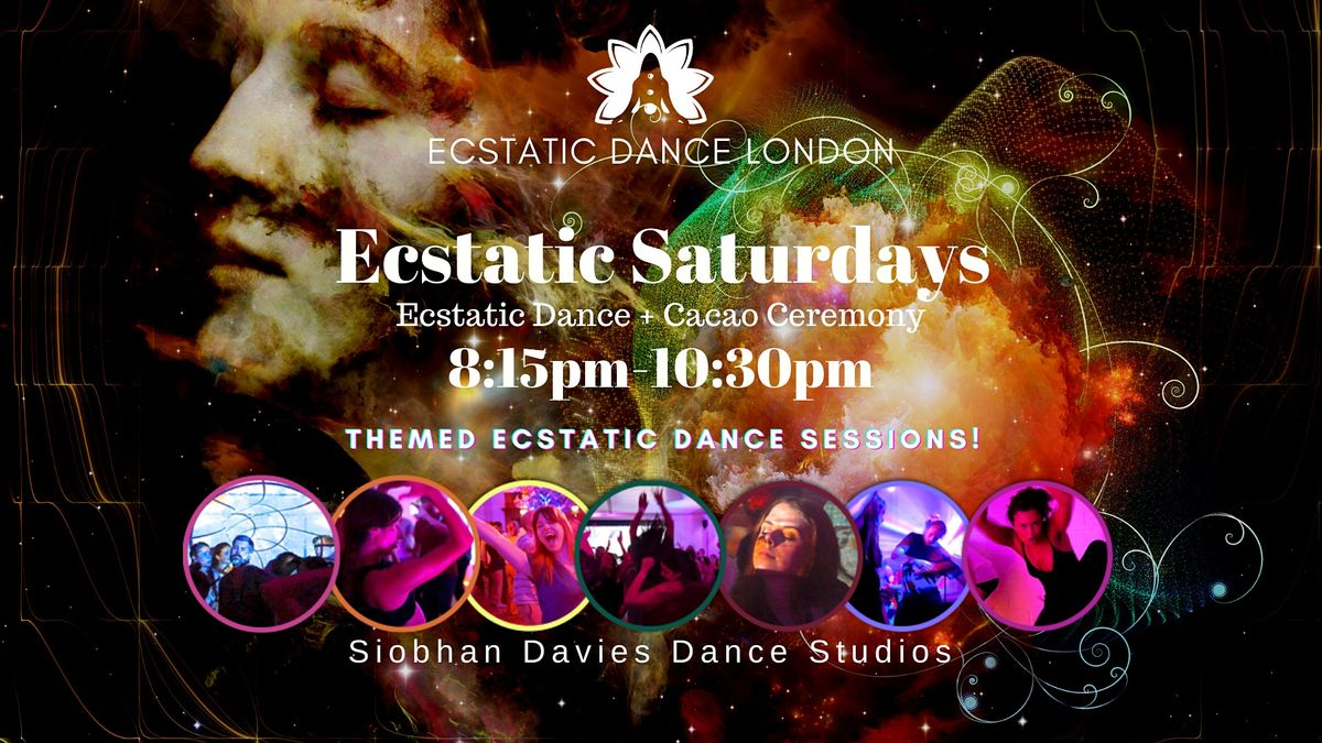 Ecstatic Saturdays INDOORS @ Siobhan Davies Studio: Ecstatic Dance & Cacao | Event in London | AllEvents.in