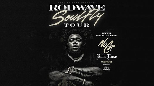 Rod Wave: SoulFly Tour presented by Rolling Loud and Live Nation - NEW DATE, 31 October | Event in New Orleans