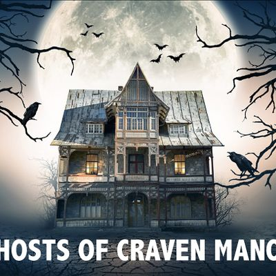The Ghosts of Craven Manor Virtual Escape Room Adventure