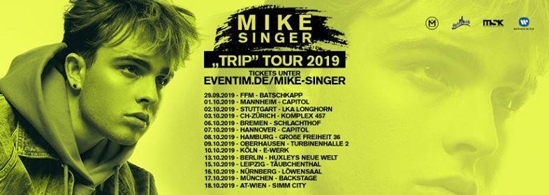 Mike Singer Trip Tour 2019 Leipzig