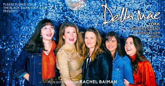 Della Mae + Rachel Baiman - The Crescent, York, 4 September | Event in York | AllEvents.in