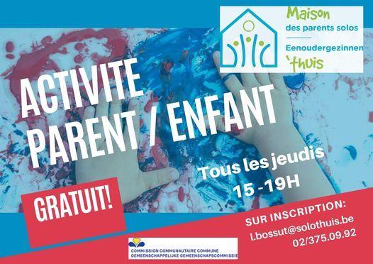 ACTIVITE PARENT/ENFANT - OUDER-KINDACTIVITEIT, 4 March | Event in Ixelles | AllEvents.in