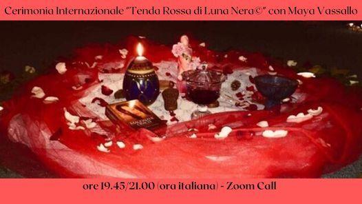 Cerimonia Internazionale - Progetto Tenda Rossa di Luna Nera