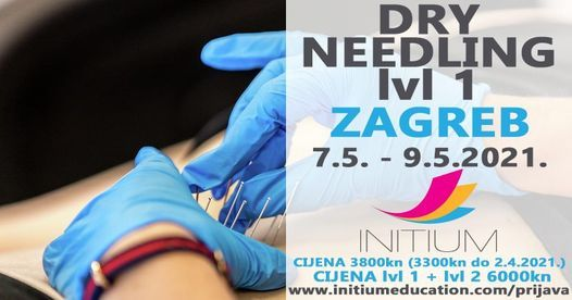 Dry needling lv1, 7 May | Event in Zagreb | AllEvents.in