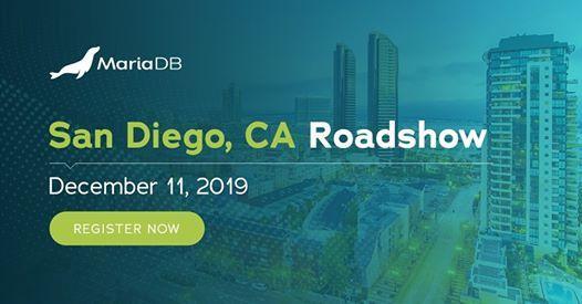 MariaDB Roadshow in San Diego