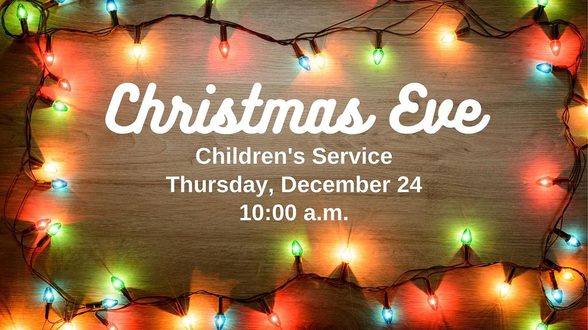Christmas Eve Childrens Service, 6611 Proctor Rd, Sarasota, 24