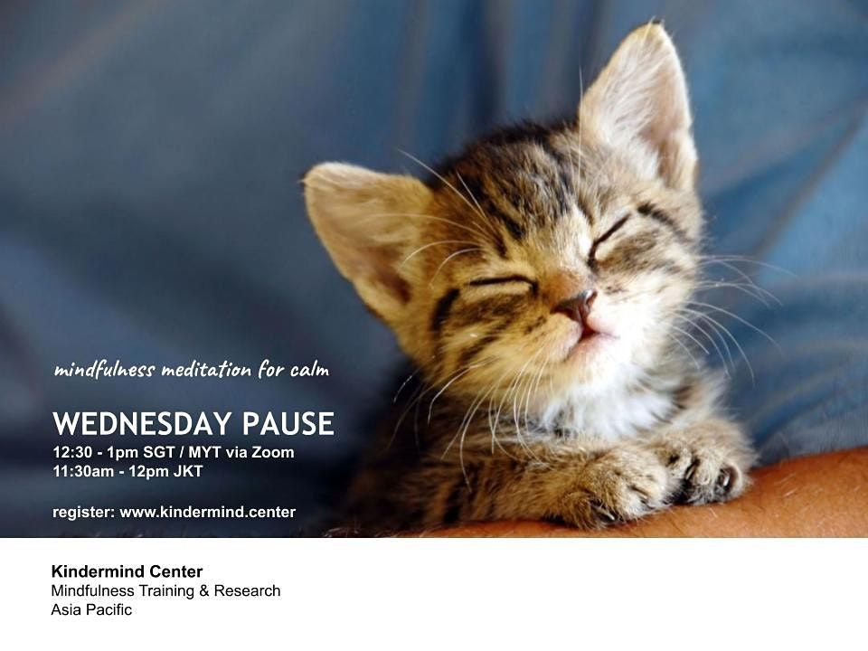 Mindfulness Meditation - Wednesday Pause - Malaysia | Event in Damansara | AllEvents.in