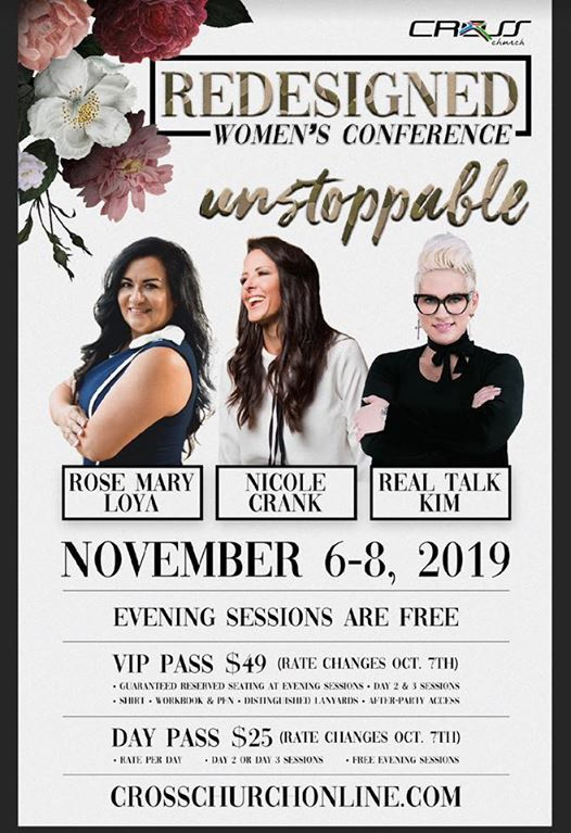 Redesigned Womens Conference