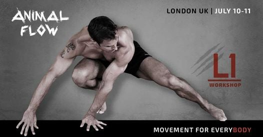 Animal Flow L1 London, 10 July   Event in London   AllEvents.in