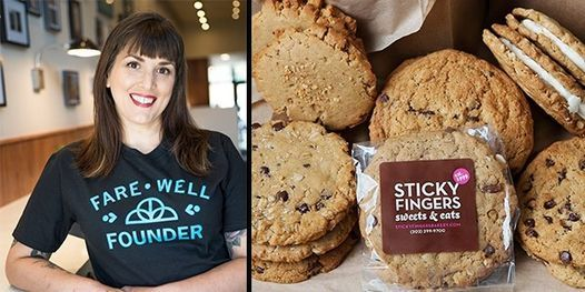Vegan Baking with Sticky Fingers: Local Chef Series (Online Cooking Demo), 13 August   Online Event   AllEvents.in