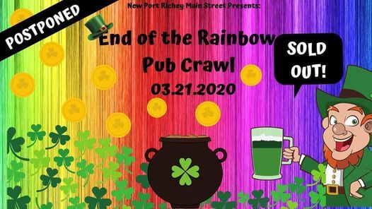 TENTATIVE* End of the Rainbow Pub Crawl, 13 March | Event in New Port Richey | AllEvents.in