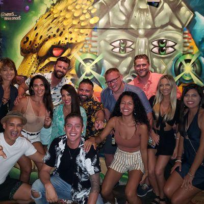 Tulumcrawl barclub crawl in Tulum