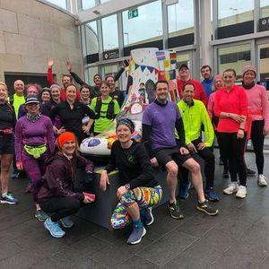 Northampton Shoe Run - Raising funds for Team Daisy
