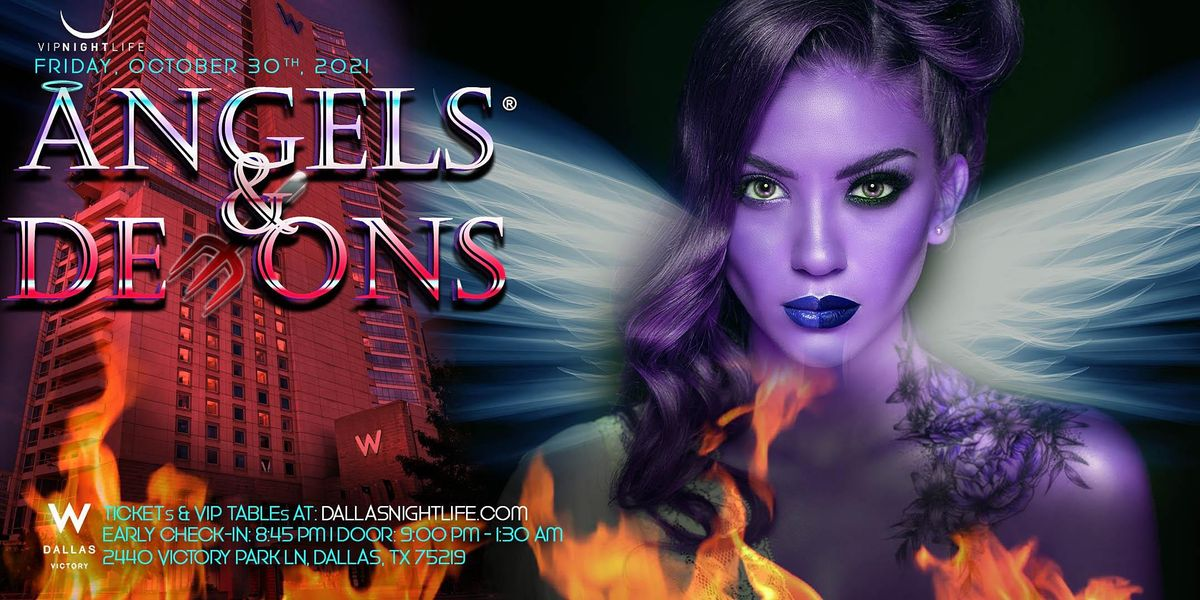 W Dallas Halloween Party - Angels & Demons, 29 October   Event in Dallas   AllEvents.in