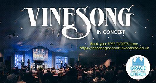 Vinesong In Concert At Grace Pentecostal Church Blackburn