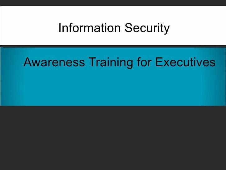 Free Webinar - Cyber Security for Executives | Online Event | AllEvents.in