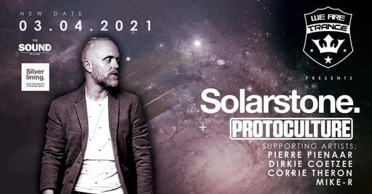 We Are Trance ft Solarstone, Protoculture & Pierre Pienaar, 26 March   Event in Midrand   AllEvents.in