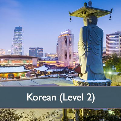 Korean Level 2 - April 2021