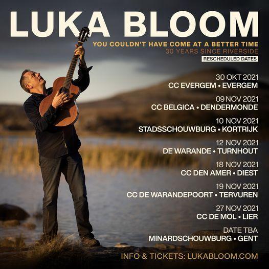 Luka Bloom // Schouwburg Kortrijk, 10 November | Event in Kortrijk | AllEvents.in