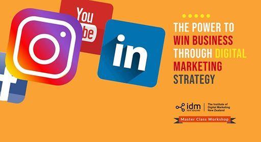 Digital Marketing Strategy Relaunch Workshop - Wellington