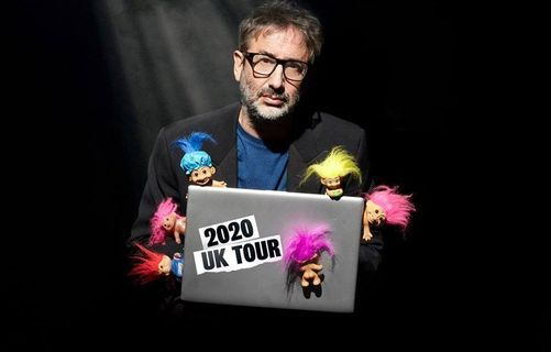 David Baddiel ~ Trolls: Not The Dolls, 10 March | Event in Reading | AllEvents.in