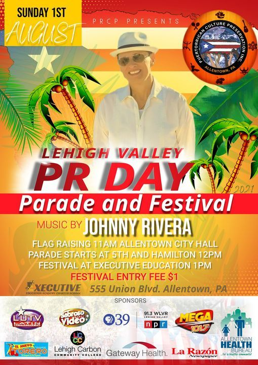 Lehigh Valley Puerto Rican Day Parade and Festival, 1 August | Event in Allentown | AllEvents.in